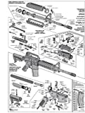 rifle diagram - AR-15 DIAGRAM GLOSSY POSTER PICTURE PHOTO shoot guns rifles weapons military