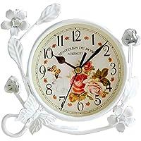 S.W.H Vintage Reloj de Mesa de Hierro Decoración