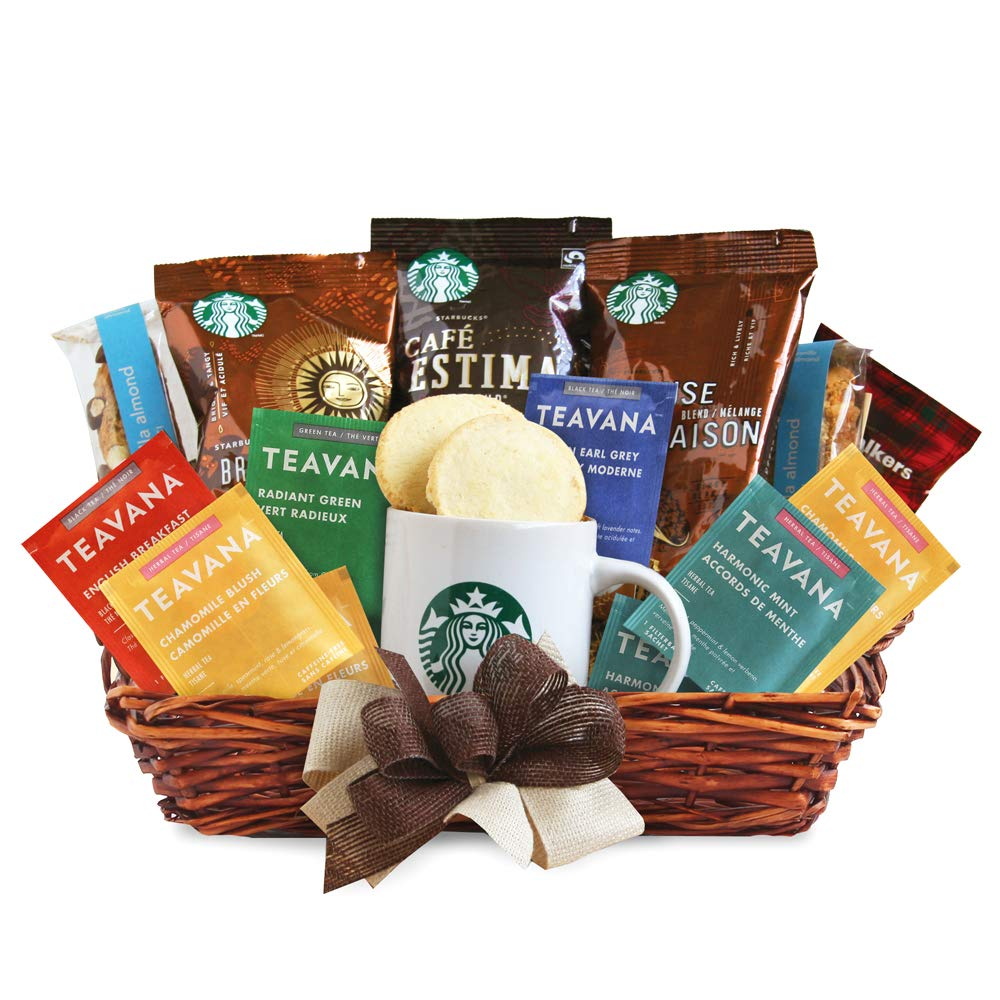 California Delicious Starbucks Daybreak Gourmet Coffee Gift Basket  sc 1 st  Amazon.com & Amazon.com : Coffee Connoisseur Gourmet Food Gift Basket : Gourmet ...