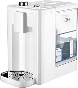 Instant Hot Water Dispenser, Water Boiler Instant Kettle Mini Desktop Water Dispenser 3.2 Litre Capacity with Filter with Adjustable Temperature for Offices Meeting Rooms Kitchen