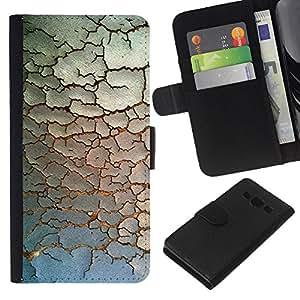 All Phone Most Case / Oferta Especial Cáscara Funda de cuero Monedero Cubierta de proteccion Caso / Wallet Case for Samsung Galaxy A3 // Paint Rustic Pattern Minimalist