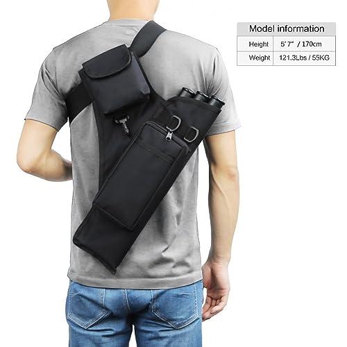 eltoro espalda carcaj con bolsillo
