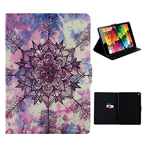 iPad Mini 1/2/3 Carcasa, Funda iPad Mini, iPad Mini 2 Funda con Tapa, Moon mood® Cáscara Flip Case Cover TPU Interior Phone Shell Anti-arañazo Libro Caso Cubierta iPad Mini 1 2 3 Cierre Magnético Sopo Tótem