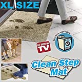 "Clean Step Mat XL- Super Absorbent Doormat 24"" x 36"""