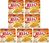 Kraft Jell-O Instant Pudding Dessert & Pie Filling, Pumpkin Spice, 3.4 Oz. Boxes (Pack of 7)
