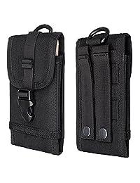7ff7ca548 Oxford Cell Phone Pocket Waist Pack for Women Arm Bag Smartphone Waist Bag  Man Belt Wallet