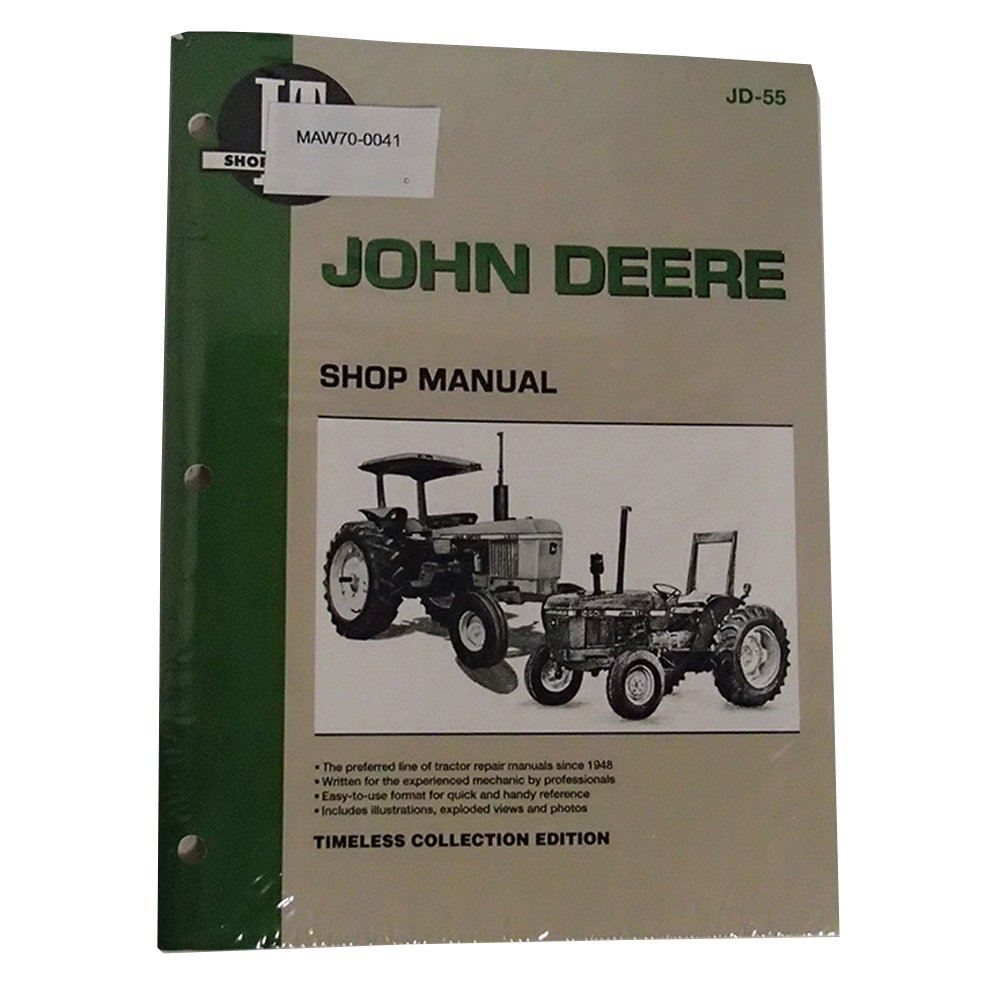 Amazon.com: IT Shop Service Manual JD-55 for John Deere 1250 1450 1650:  Industrial & Scientific