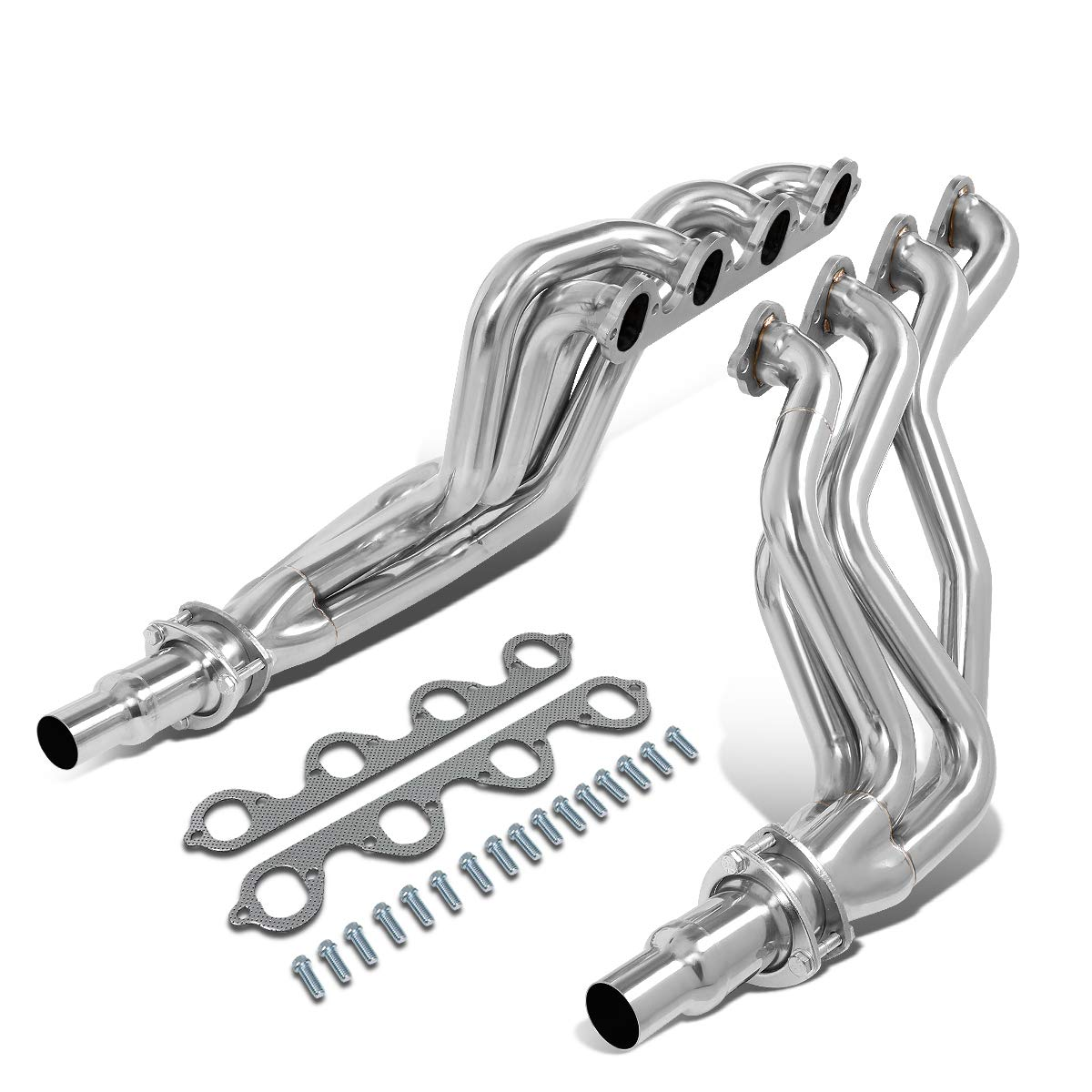 STAINLESS STEEL HEADER MANIFOLD EXHAUST FOR 99-04 F150 4WD//RWD 5.4 MODULAR V8