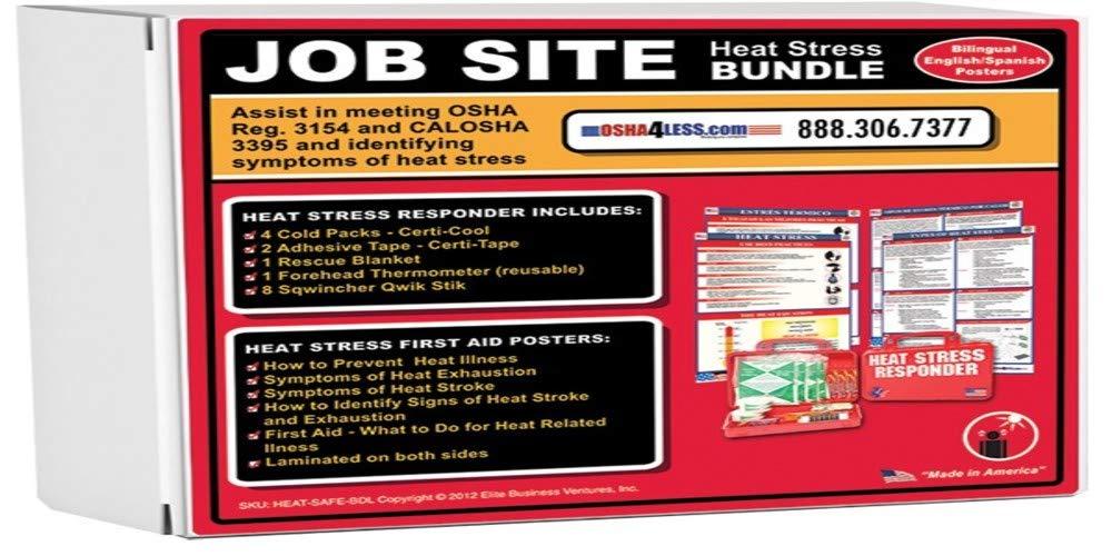 Heat Stress Job Site Safety Kit