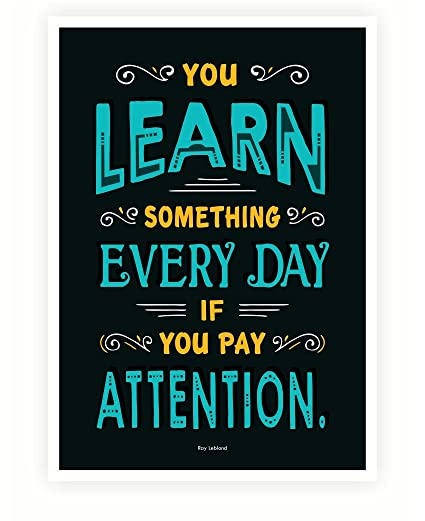 Amazon.com: LAB NO 4 Learn Everyday with Pay Attention ...