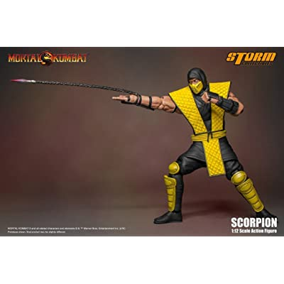 Storm Collectibles Mortal Kombat VS Series Scorpion 1/12 Action Figure: Toys & Games