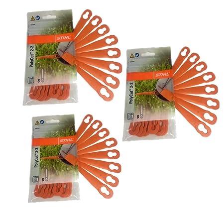 Cuchillas de plástico Stihl PolyCut 2-2 para cortabordes FSA ...