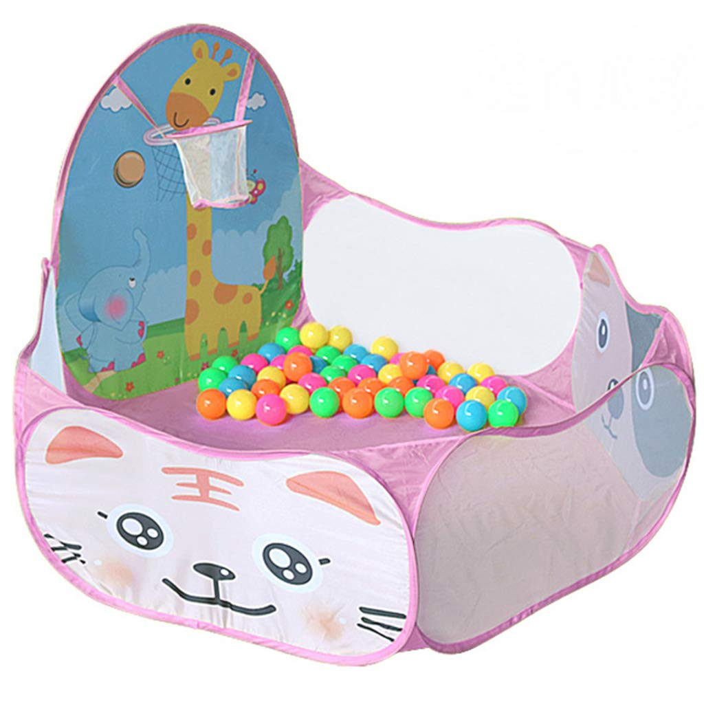Playpens Baby Fence Kids Play Tunnel Tent with Ball Pit, Children's Playhouse for Kids Indoor Outdoor Playground Household Shatter Resistant Toys