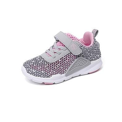 Qianliuk Boys Trainer Velcro Leichte Kinder Casual Shoes Running Wandern Kids Turnschuhe sAfkIU