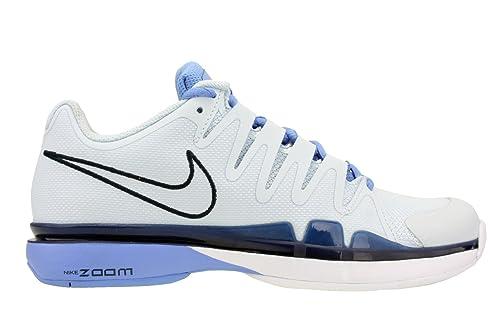 Nike Womens Zoom Vapor 9.5 Tour Tennis Shoes Blue Tint/Chalk Blue/Obsidian  631475