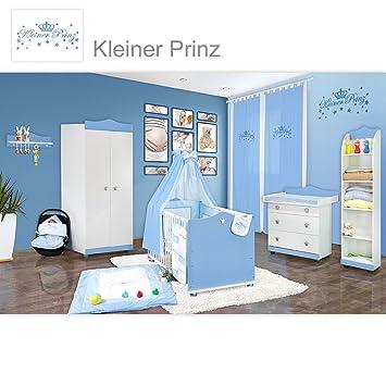 Babyzimmer 23 Tlg Kleiner Prinz Inkl Wandregal Standregal