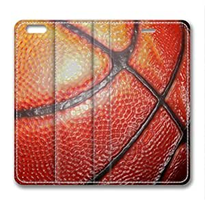 Basketball Masterpiece Limited Design Leather Cover for iPhone 6 by Cases & Mousepads