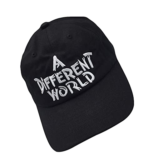 cb69ff22 Shengyuan Lin A Different World Baseball Caps Dad Hat Cotton Adjutable Hat  Embroidered Cap (Black