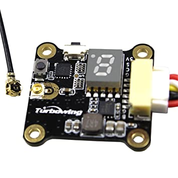 Goolsky Turbo Cyclops TX17128 0/25 / 200mW transmisor de video intercambiable 5.8G 48CH