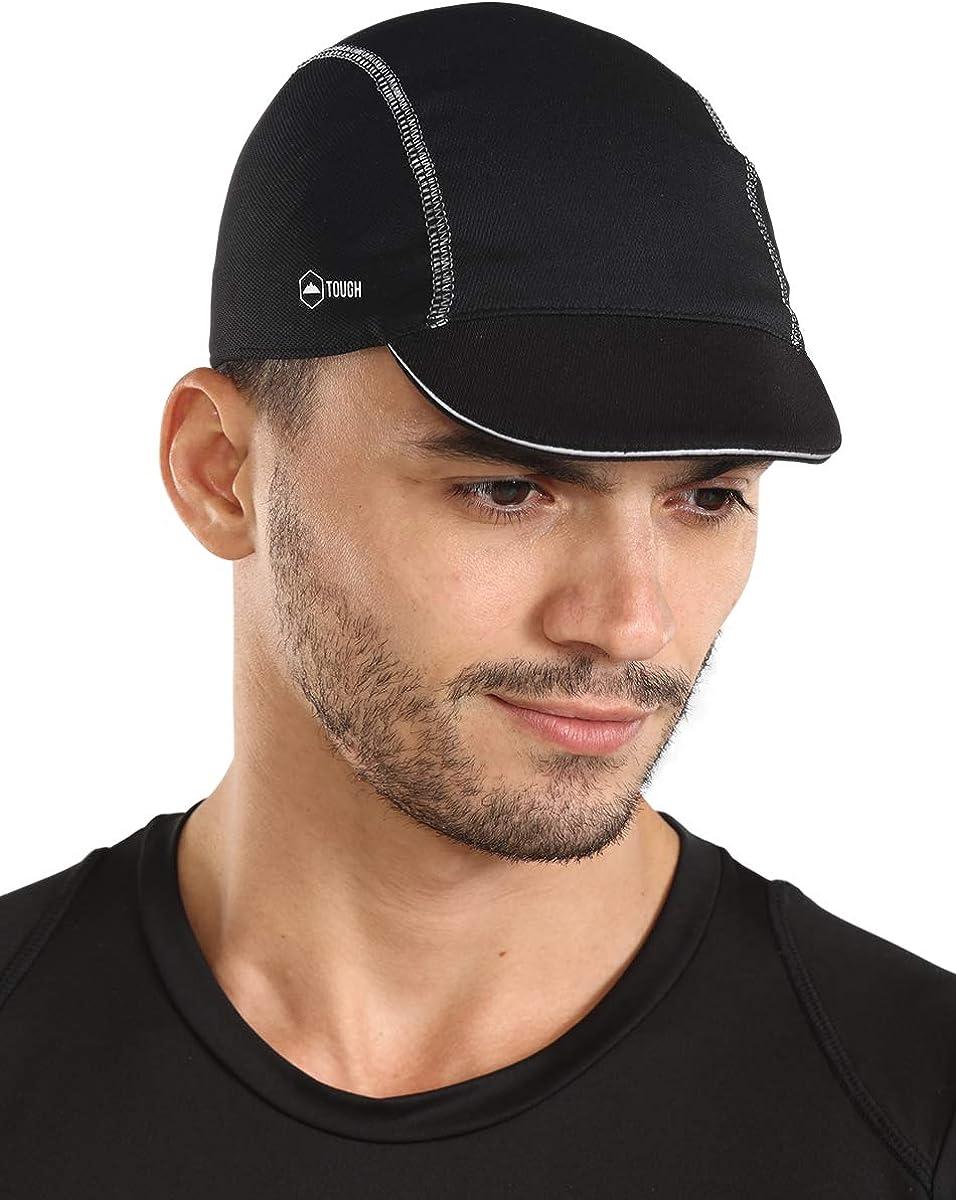Unisex Anti-Sweat Bike Cycling Cap Helmet Quick Dry Motorcycle Riding Hat Caps
