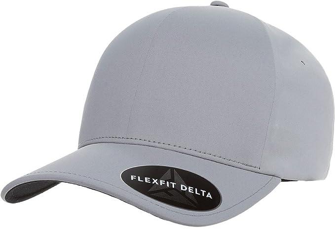 Flexfit Premium Seamless Hat - Delta 180 L/XL (Silver)