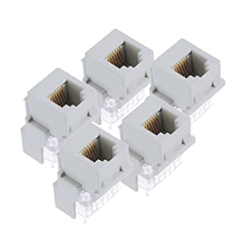 on q f9042whv5 rj25 phone jack, white, 5pack electrical Cat 6 RJ45 Wiring-Diagram on q f9042whv5 rj25 phone jack, white, 5pack electrical distribution wall plates amazon com