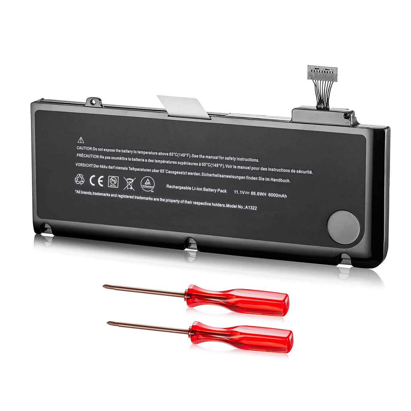 Bateria A1322 Macbook Pro A1278 2012 2011 2010 2009 Version