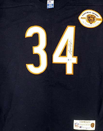 finest selection 892d7 aa7f0 Chicago Bears Walter Payton Autographed Champion Throwback ...