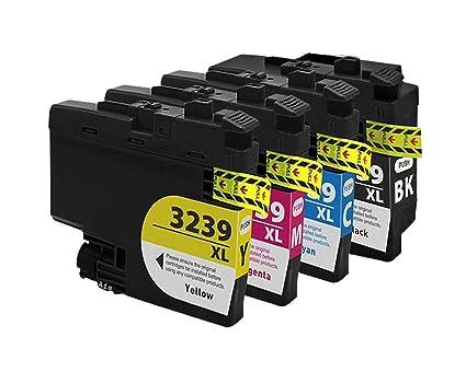 LC3239XL - Juego de 4 Cartuchos de Tinta para Impresora ...