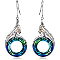 Kate Lynn Nirvana of Phoenix Women Statement Earrings, Crystals from Swarovski, Christmas gifts, Elegant Jewellery Box, Symbolizing Luck and Renewal