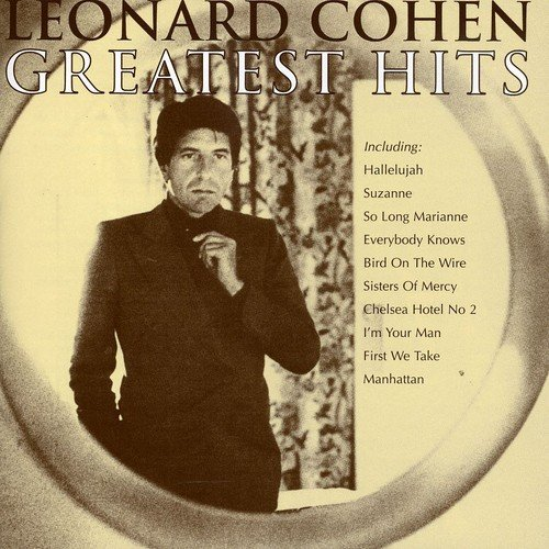Greatest Hits Best of Leonard Cohen Sony Pop Rock