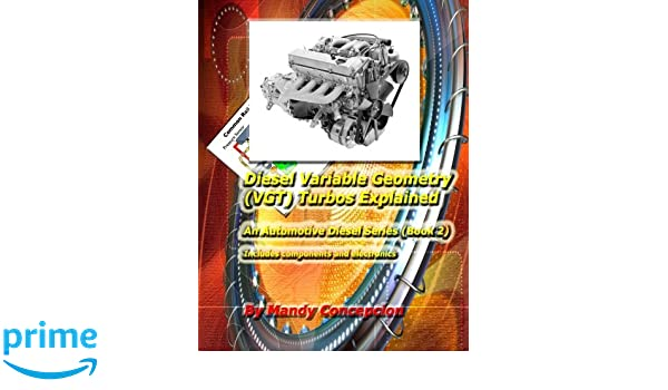 Diesel Variable Geometry VGT Turbos Explained: Includes VGT components and electronics: Volume 2: Amazon.es: Mandy Concepcion: Libros en idiomas extranjeros