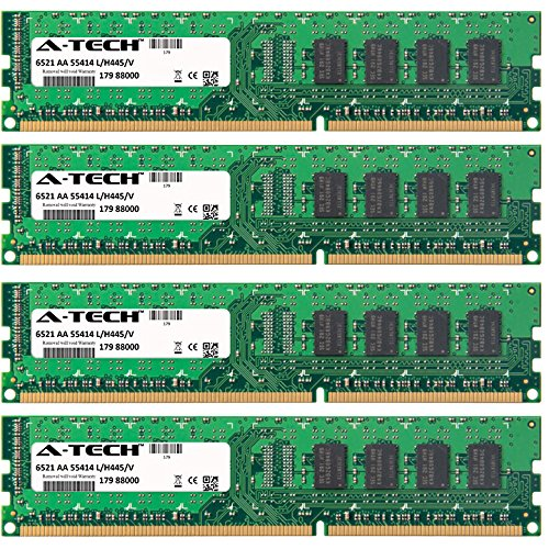 32GB KIT (4 x 8GB) for HP-Compaq EliteDesk Series 800 (Small Form Factor) 800 (Tower) 800 G1 (Small Form Factor) 800 G1 (Tower). DIMM DDR3 Non-ECC PC3-12800 1600MHz RAM Memory. Genuine A-Tech Brand.