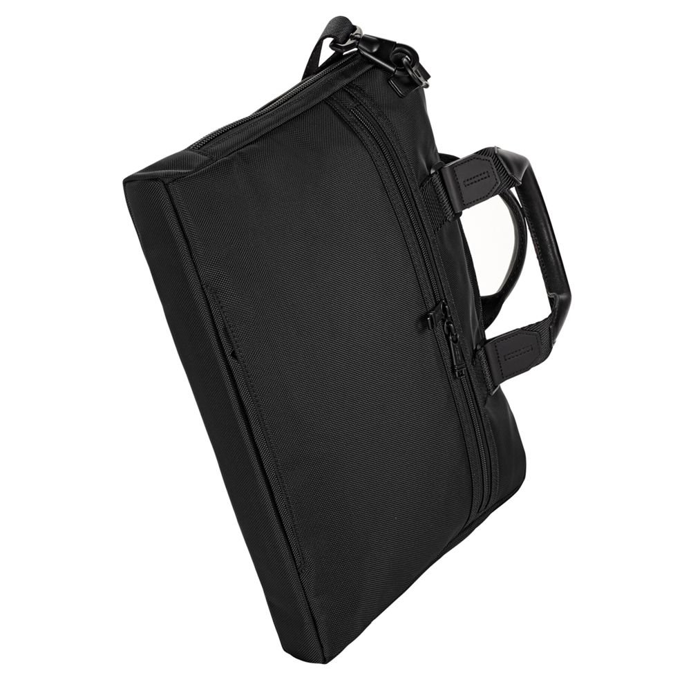 TUMI - Alpha Bravo Aviano Laptop Slim Brief Briefcase - 15 Inch Computer Bag for Men and Women - Black by TUMI (Image #4)