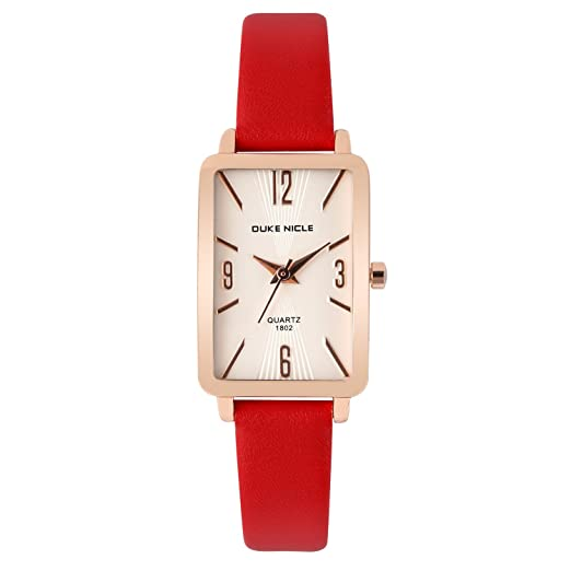 Amazon.com: Womens Fashion Watch,Ladies Rose Gold-Rectangular Case Luxury Elegant Dress Waterproof Quartz Casual Wrist Watches for Ladies and Girls with ...
