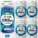 【4個】ビーンスタークマム 3つの乳酸菌M1 90粒x4個 (4987493002192-4)