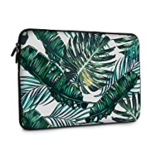 iCasso New Art Image Soft Neoprene 13-inch Laptop / Notebook Computer / MacBook Air / MacBook Pro Sleeve Case Bag Cover (Palm Leaves)