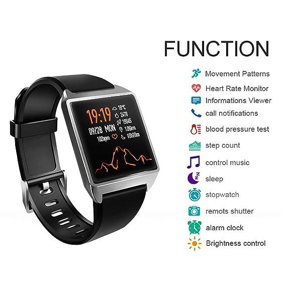 Amazon.com: Unisex Smart Watch Bracelet AGPS Pedometer ...