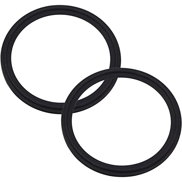 444 Buna//NBR Nitrile O-Ring 70A Durometer Black 6 Pack Sterling Seal and Supply