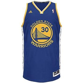 7453685b6b2 Adidas NBA Golden State Warriors  30 Stephen Curry Swingman Basketball Jerseys  kits Blue (Shirts