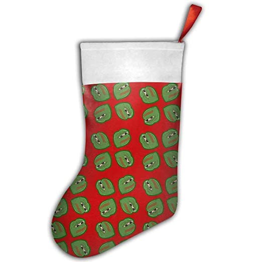 dc8c171b1c Image Unavailable. Image not available for. Color  Girdsunp Pepe Frog Meme  Hanging Stocking