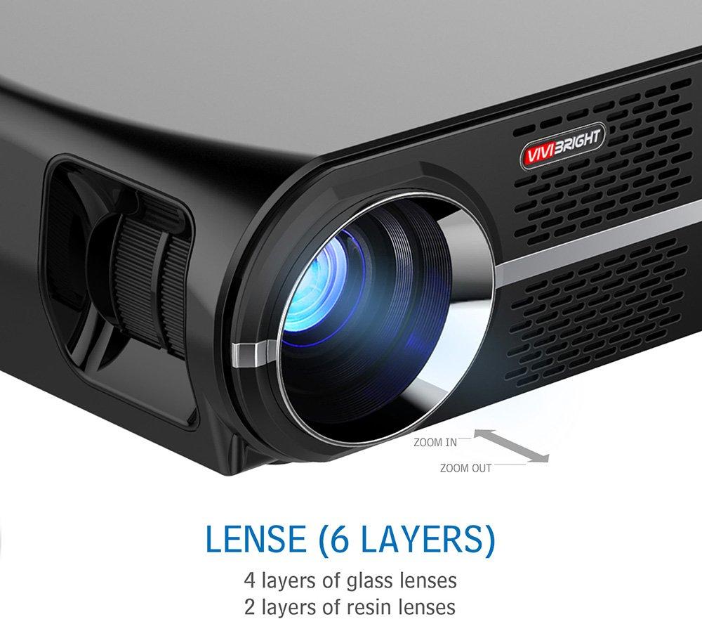 Amazon.com: Vivibright GP100 3200 Lumens Video Projector ...