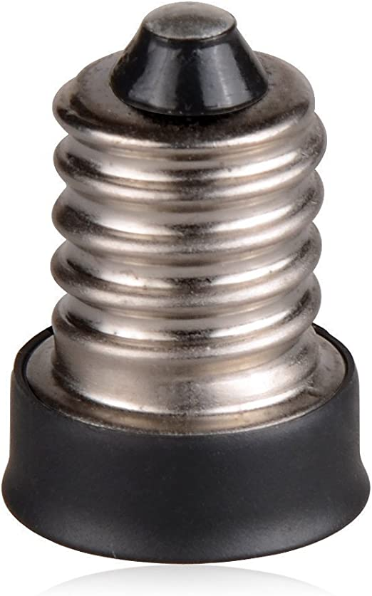 FINELED 12pcs LED E14 to E12 Adapter Converter Lamp Adapter E14-e12 Halogen CFL Bulb Lamp Light Converter Adapter Lamp Holder FL-E14-E12-12