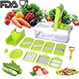 Mandoline Vegetable Chopper,Vegetable Granulator,Cheese-Onion Chopper-Dicer Vegetable slicer,Vegetable-Fruit-Cheese-Onion Chopper-Dicer-Kitchen Cutter,Vegetable Slicer,Vegetable Cutter