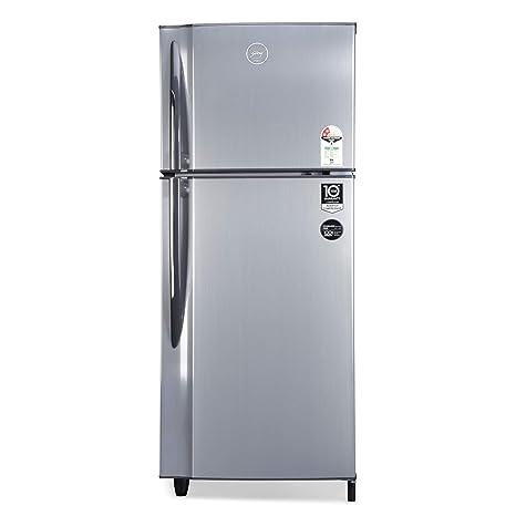 Godrej 236 L 2 Star Inverter Frost-Free Double Door Refrigerator (RF EON 236B 25 HI SI ST, Stainless Steel)