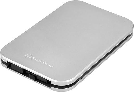 Portable Metal mSATA to 2.5 SATA III HDD SSD Converter Adapter with Aluminium Enclosure Case Wendry Mini SATA to SATA III Converter