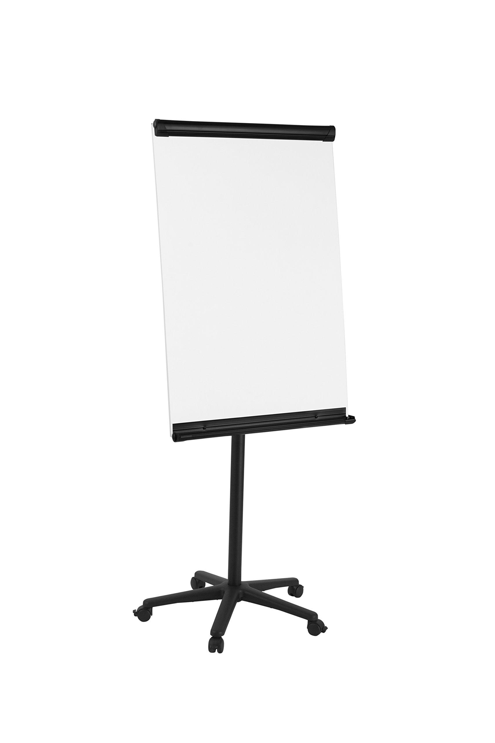 Bi-Silque EA4806125 Frameless Flip Chart Easel Magnetic Frames