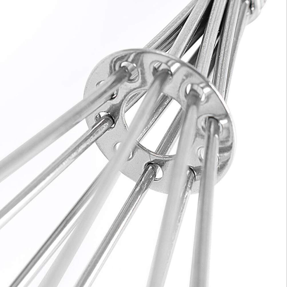 Beating /& Stirring 5 Inches and 7 Inches Mini Balloon Wire Whisk for Blending Whisking Stainless Steel Kitchen Whisk