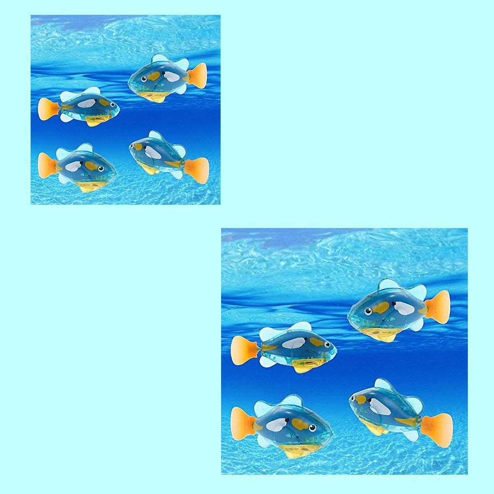 Plastique Poisson Jouet Robot Natation Poisson Batterie /électrique Natation Plong/ée Operated Flottant Poisson Clown Eau Activ/é Robot Poisson dans leau Jouet /électronique pour Enfants Cadeau