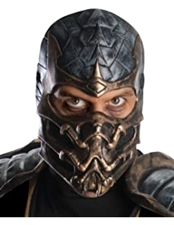 Amazon Com Mortal Kombat Mask Adjustable Adult Halloween Cosplay